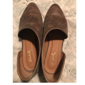 b9583e2f98ea Qupid Shoes - Qupid Tuxedo-68 Nutmeg Ballerina Flats NWB